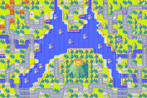 Acid Rain Advance Wars Map By Zeron The Flying Kirby Pub