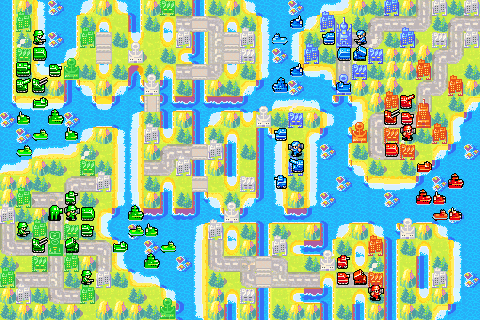 Advance Wars  War Room Maps